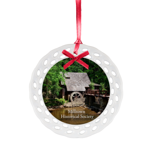 Custom Ceramic Christmas Ornaments - Bulk