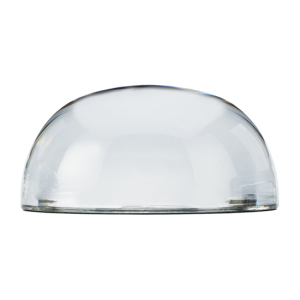 Custom Deluxe Dome Paperweight - Side View