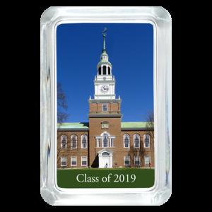 Custom Glass Paperweight - Rectangle - School Photo - Graduation