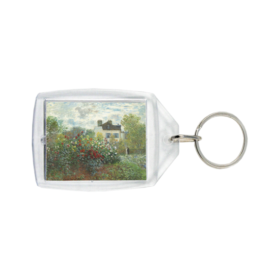 Small keychain with art