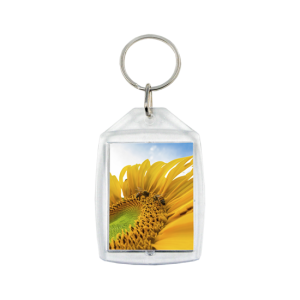 Customized keychain - Sunflower