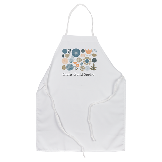 Custom Printed Apron - Crafters