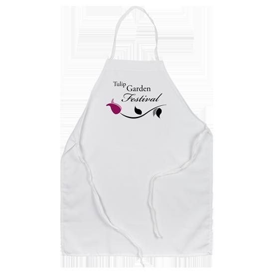 custom chef apron - Logo tulip festival