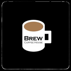Custom Drink Coaster - Coffee House Logo