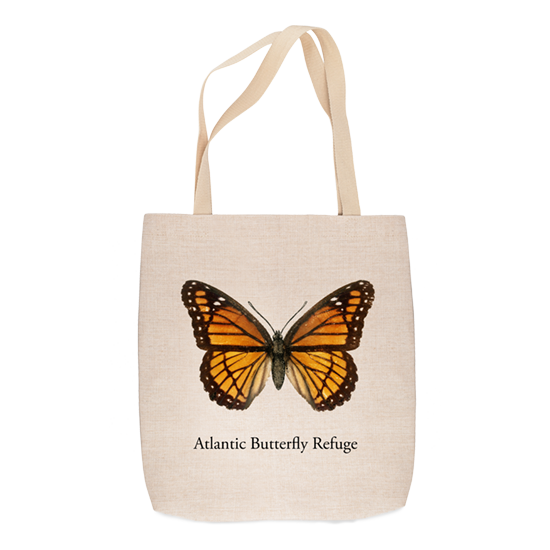 Sublimation tote bag with butterfly